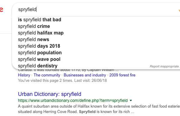 Is Spryfield that Bad?